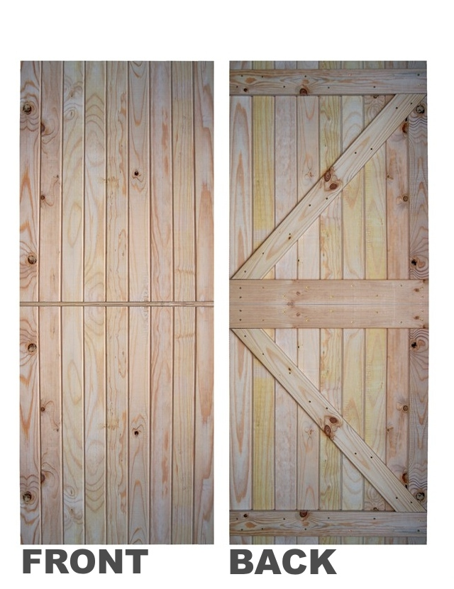... Pine Batten Stable Door